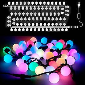 Гирлянда светодиодная шары средние, 20 LED