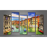 Модульная картина Панорама Венеция (5) 4