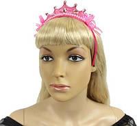 Корона Принцессы розовая