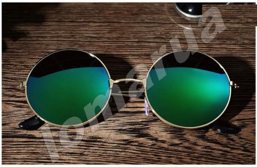 ed394d751f3a Женские солнцезащитные очки круглые хамелеон Green  80 грн. - Другие ...