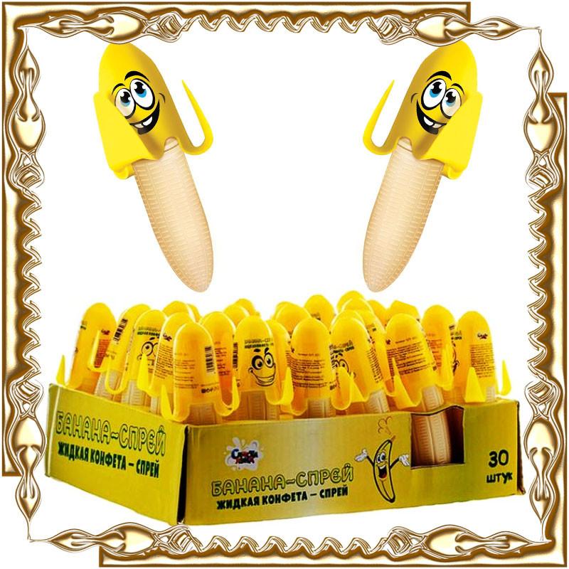 """Спрей """"Банан"""" 30шт/уп."""