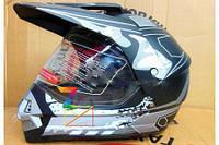 Шлем BLD кроссовый черный