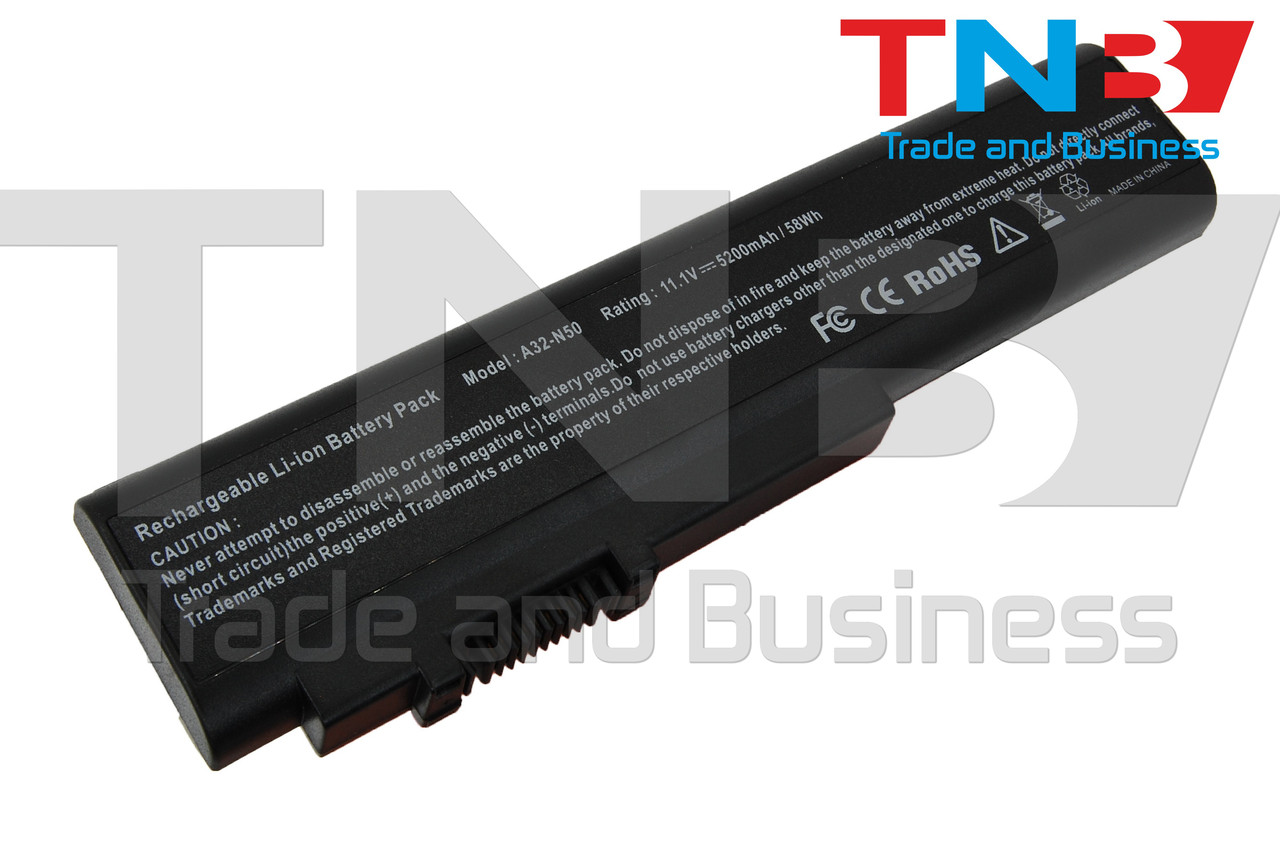 Батарея ASUS N50VN-FP154C 11.1V 5200mAh