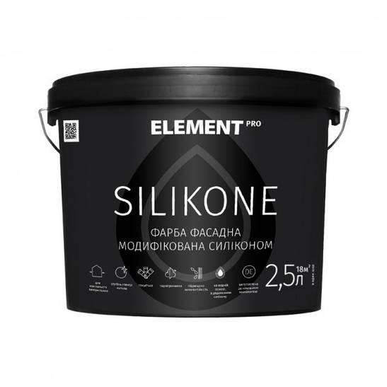 Фасадная краска Silikone Element Pro