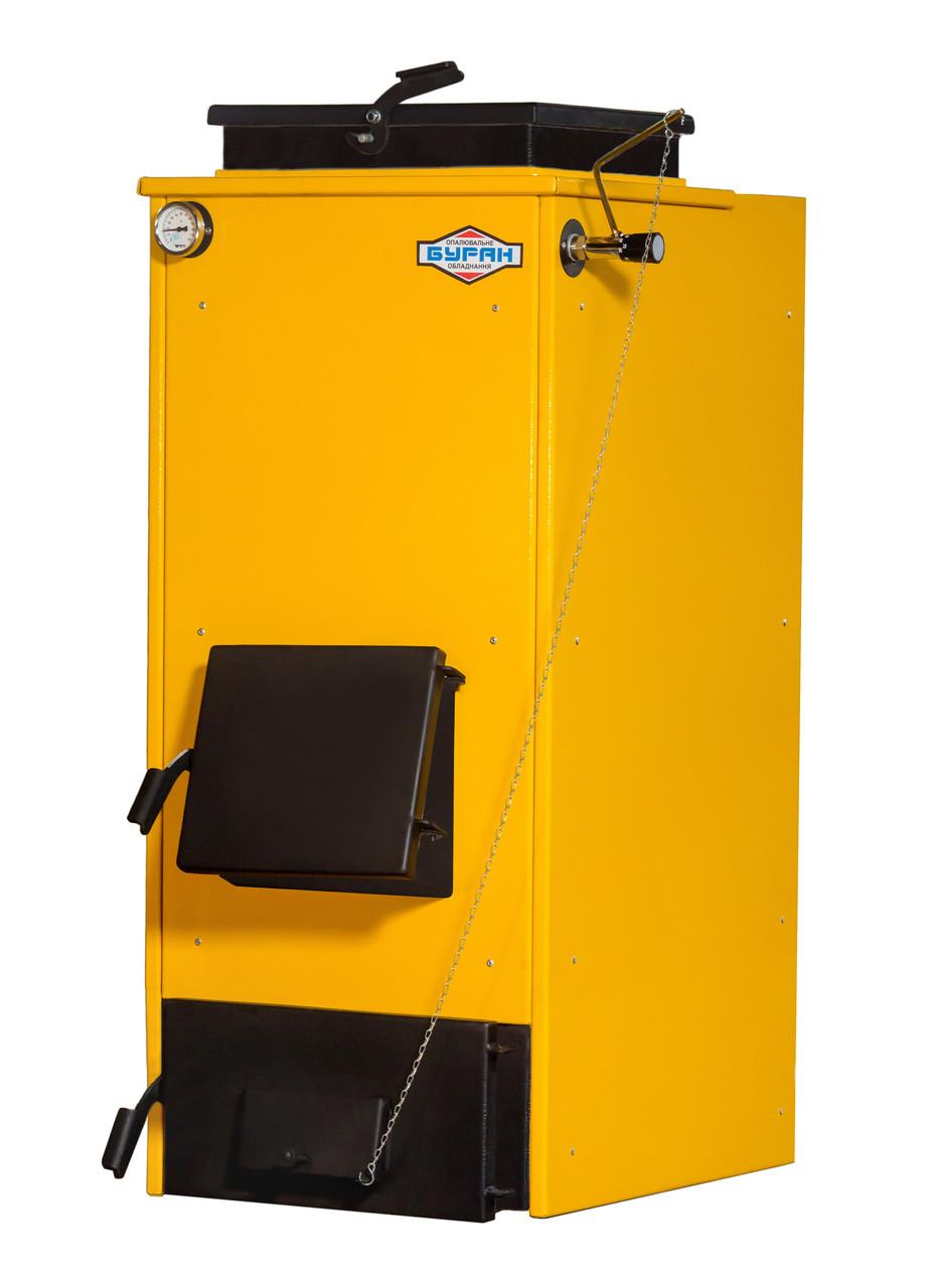 Твердотопливный котел длительного горения БУРАН Montem Холмова 10 V кВт