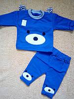 Костюм ясельный для мальчика /девочки Мишка p. 44(на 68см)Синий