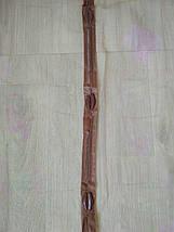 Антимоскитная сетка на магнитах в дверной проем бежевая с цветами 100*210 см, фото 3