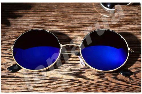 50c35807d432 Женские солнцезащитные очки круглые хамелеон Blue  80 грн. - Другие ...