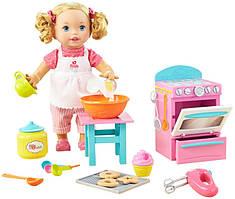 Mattel Little Mommy Кукла пупс маленькая мама Пекарь Bake with Me Baby Doll
