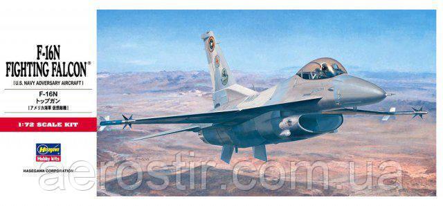 F-16N Top Gun 1/72  Hasegawa C12