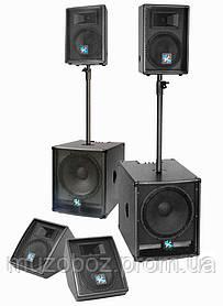Комплект сабвуферы и акустика Park Audio MAGIC SET 2000 краска
