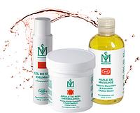 Разогревающие средства для лечебного массажа и обертываний