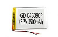 Литий-полимерный аккумулятор 3.7V 90х60х3 3500 mAh
