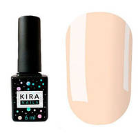 Гель-лак Kira Nails №001 (розовый для френча, полупрозрачный, эмаль), 6 мл