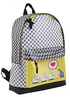 Рюкзак городской для девочек, ST-28 Love sheeps, фото 1