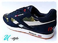 Кроссовки Reebok милитари, кеды! + шнурки в подарок!