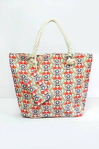Пляжная сумка Флоренция оранжевая
