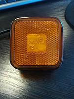 Лампа фонарь габарит Ман MAN 65x65 81252606104