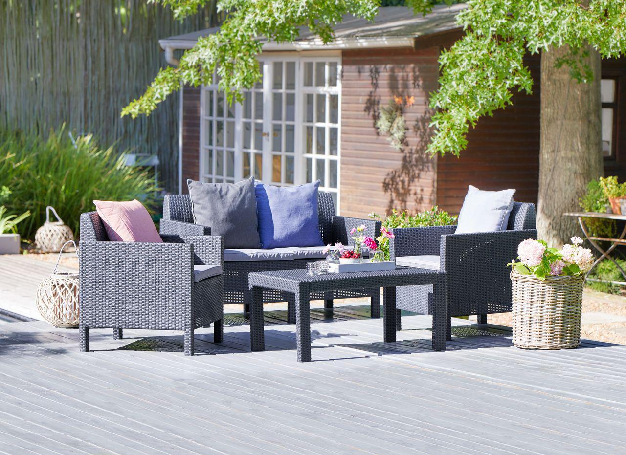 Комплект садовой мебели 4-местный