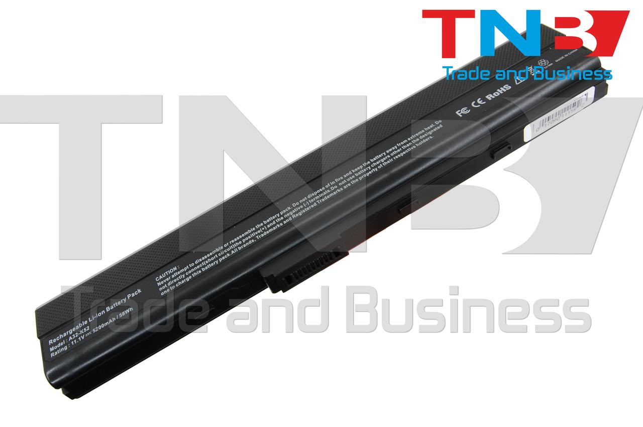 Батарея ASUS A42JR A42JV A52 A52F 10.8V 5200mAh