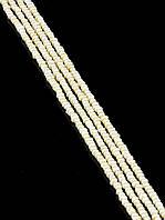 Мелкие бусины жемчуга - 3мм., нитка 40 см. 019111