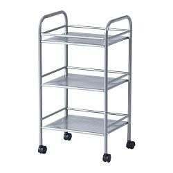 ДРАГГАН Візок, колір алюмінію, 41x32x75 см, 70245594, ІКЕА, IKEA, DRAGGAN