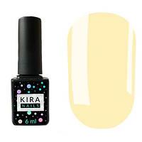 Гель-лак Kira Nails №009 (бледно-бежевый, эмаль), 6 мл
