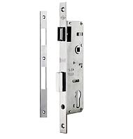 Замки для пластиковых дверей врезной KALE 153 P бексет 20mm 85мм Никель 16 mm