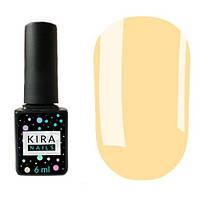 Гель-лак Kira Nails №010 (светлый персиковый, эмаль), 6 мл
