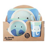 Набор посуды из бамбука Elephant Eco