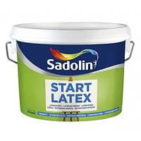Краска базовая для стен и потолков START LATEX Sadolin (Старт Латекс Садолин)10л.
