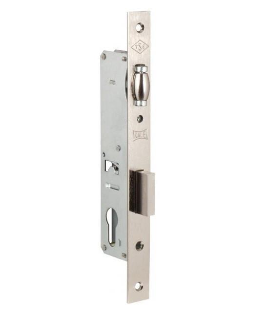 Замки для пластиковых дверей врезной KALE 155 бексет 20 mm 85мм Никель