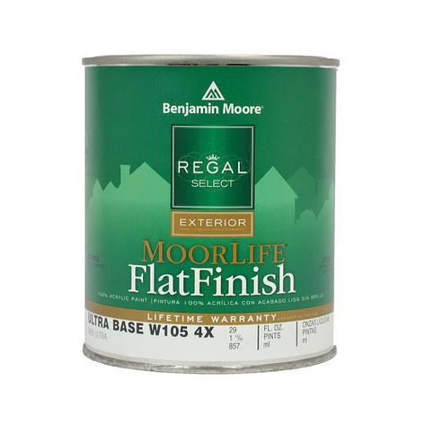 Фасадная краска Regal® Select MoorLife Flat Finish, Benjamin Moore, 0,946л, фото 2