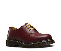 Ботинки полуботинки туфли Dr.Martens 1461 CHERRY RED SMOOTH (Бордовые) Размер 41 42 43 44 45