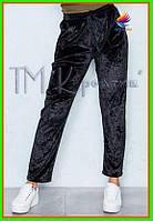 Велюровые штаны оптом под заказ от 50 шт.