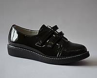 Туфли для девочек KLF Bessky YJ6761-1 black (Размеры: 32-37) , фото 1