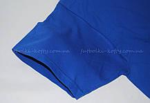 Мужская футболка плотная мягкая Ярко-синяя Fruit of the loom 61-422-51 S, фото 2