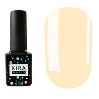 Гель-лак Kira Nails №014 (кремовый, эмаль), 6 мл
