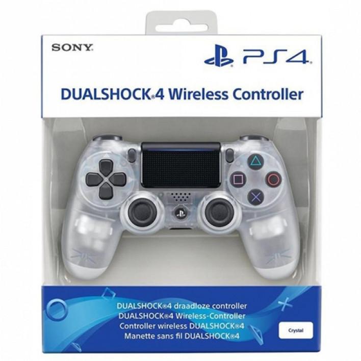 Геймпад Dualshock 4 V2 Crystal Clear (Limited Edition)