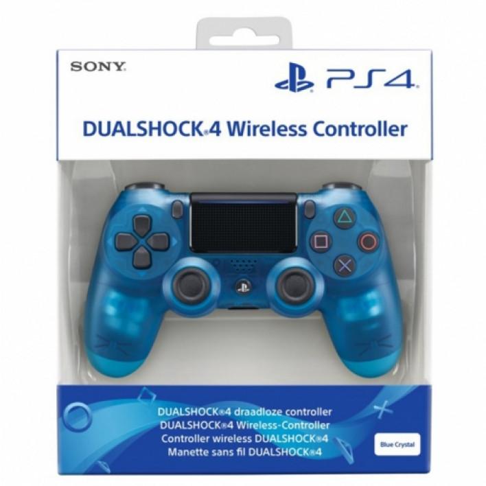 Геймпад Dualshock 4 V2 Crystal Blue (Limited Edition)