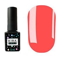 Гель-лак Kira Nails №016 (очень яркий малиновый, неоновый), 6 мл