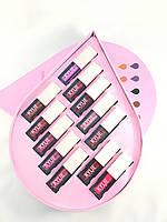 Набор для макияжа Kylie (Кайли) капелька  12в1, розовый, фото 1