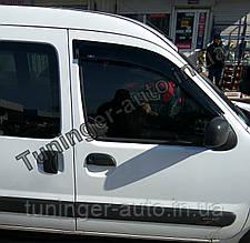 Ветровики, дефлекторы окон Peugeot Partner/Citroen Berlingo 1997-2008 (Hic)