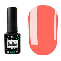 Гель-лак Kira Nails №018 (светлый коралловый, эмаль), 6 мл