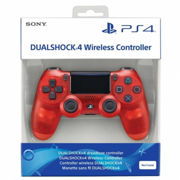 Геймпад Dualshock 4 V2 Crystal Red (Limited Edition)