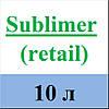MultiChem. Замінювач вапна Sublimer (retail), 10 л. Заменитель извести для штукатурки, готовый к использованию