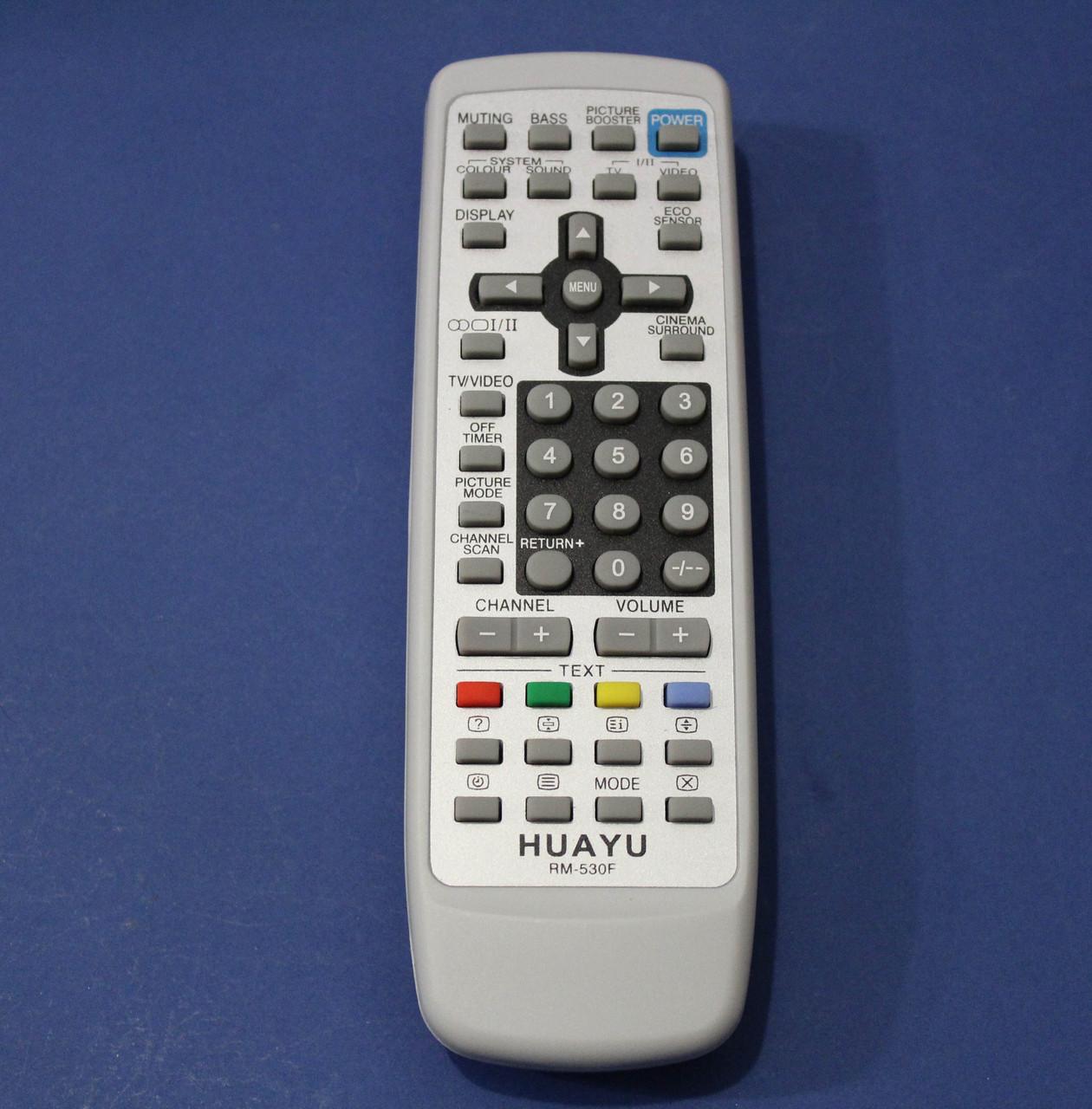 Пульт для телевизора  универсальный JVC  huayu Rm-530 F