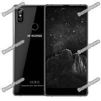 Смартфон M-Horse Pure 2 черного цвета - 4/64 Gb, 3600 mAh, Android 7. Телефон