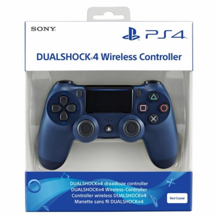 Геймпад Dualshock 4 Wireless Controller: Midnight Blue