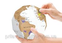 Скреч Карта Мира Земной Шар